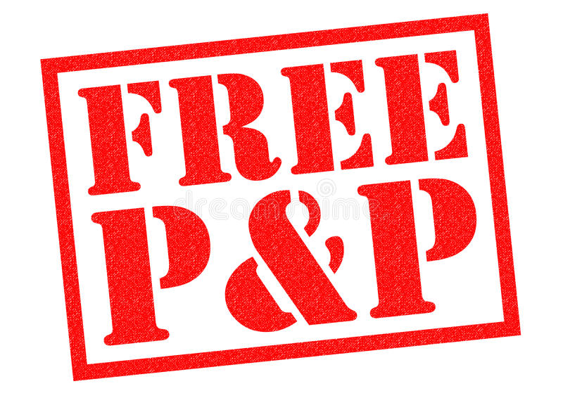 FREE P&P stock illustration. Illustration of offer, parcel