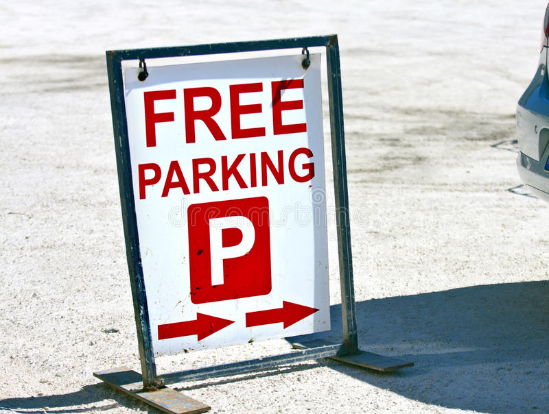 Free parking royalty free stock images