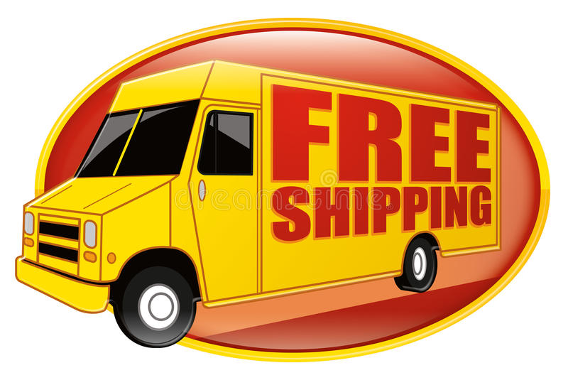 Download Free Shipping Delivery Truck Yellow Stock Illustration - Illustration: 14923077
