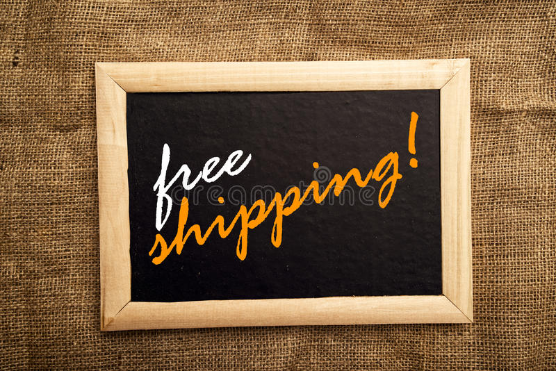 Free shipping royalty free stock photo