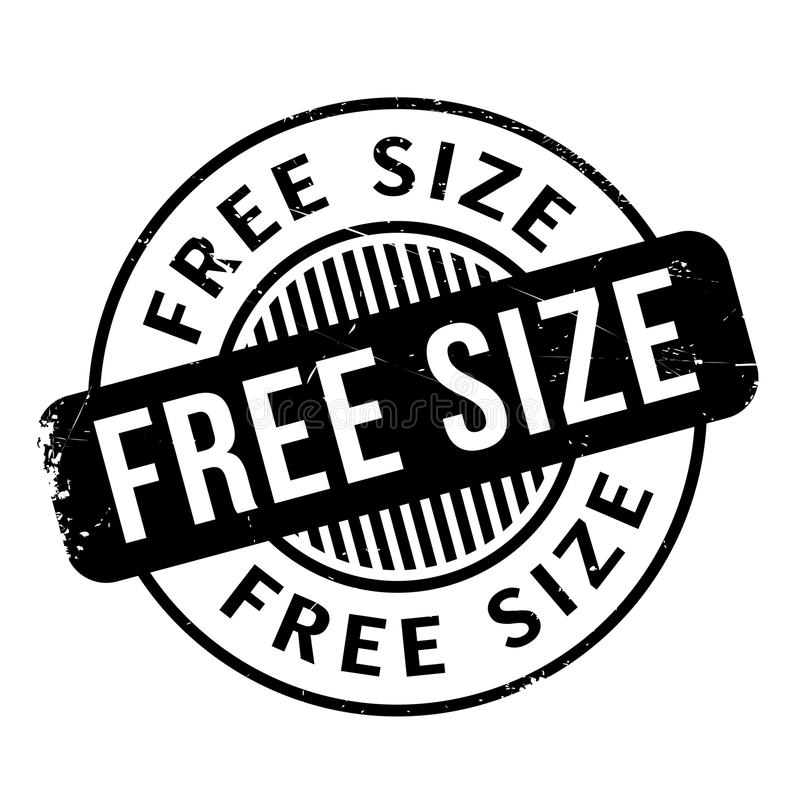 Free Size rubber stamp. Grunge design with dust scratches. Effects can be easily removed for a clean, crisp look. Color is easily changed vector illustration