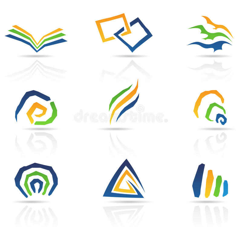 Download Free Style Abstract Icons stock vector. Image of design - 20518601