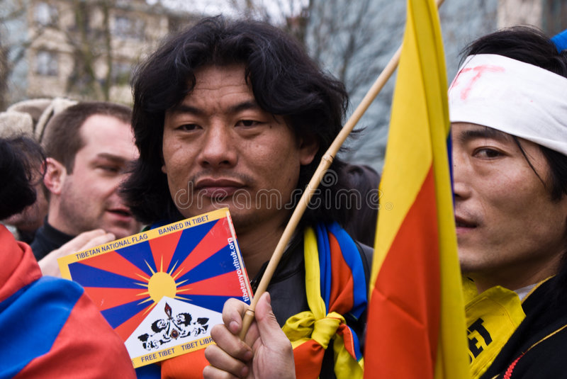 Free Tibet Editorial Photography
