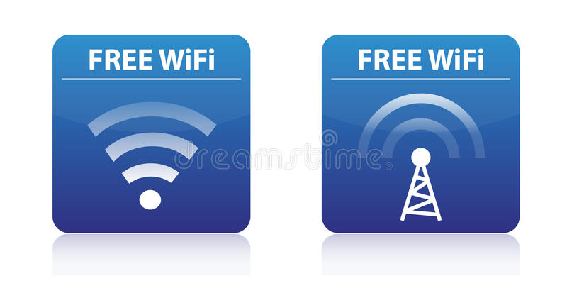 Download Free wifi buttons stock vector. Illustration of free - 25358269