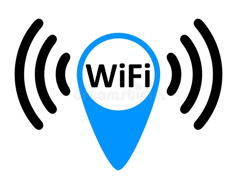 free wifi logo zone vector stock illustration illustration of rh dreamstime com free wifi login no prompt iphone free wifi logger