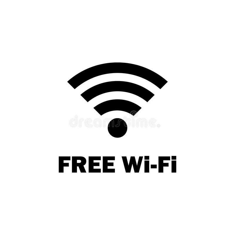 Free wifi zone icon. Element of travel icon for mobile concept and web apps. Detailed free wifi zone icon can be used for web and. Mobile. Premium icon on white stock illustration