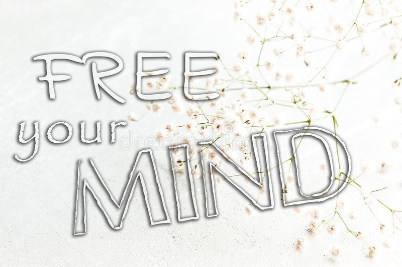 Free Your Mind, Mental Health stock image