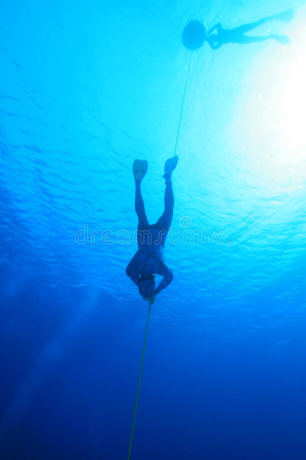 Download Freedivers stock image. Image of sport, dive, extreme - 13933259
