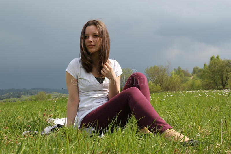 Download Freedom stock image. Image of wait, young, outdoor, meadow - 22104415