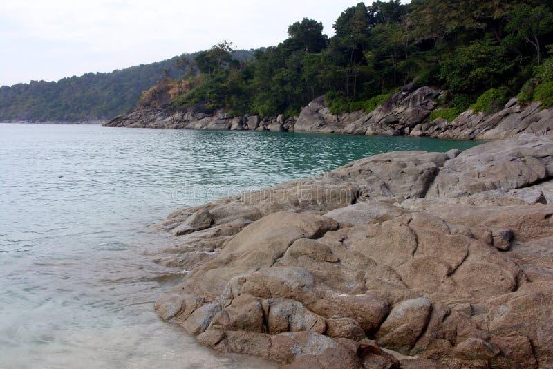 Freedom beach, Phuket, Thailand royalty free stock photo