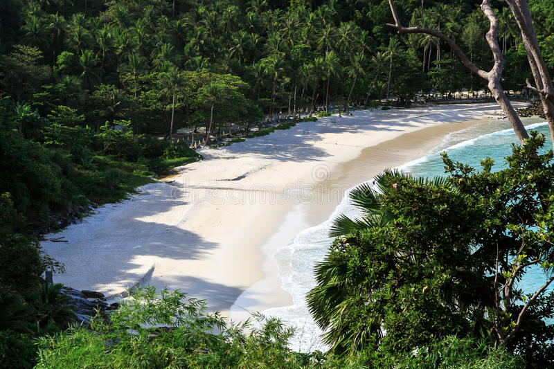 Freedom beach, Phuket, Thailand royalty free stock photography