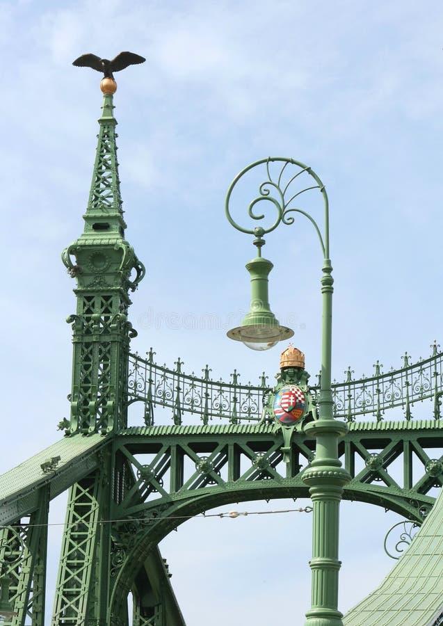 Freedom Bridge stock image