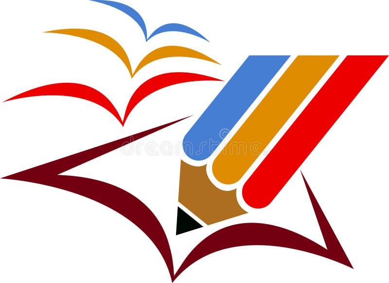 Freedom education logo stock illustration