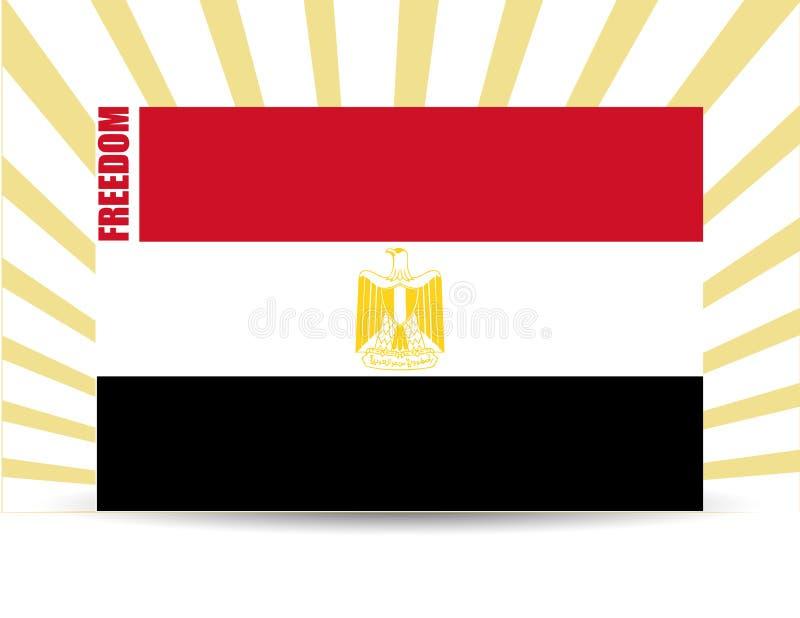Freedom egypt flag