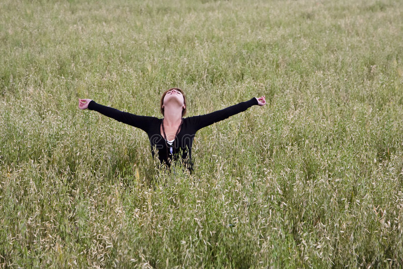 Download Freedom On The Field Royalty Free Stock Image - Image: 5289306
