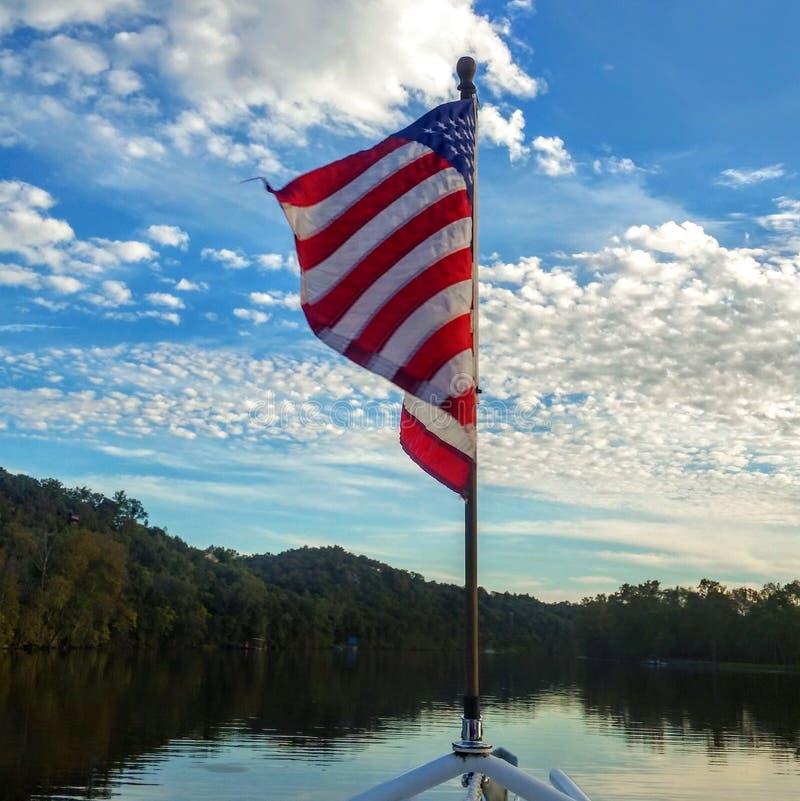 Freedom on the Lake. royalty free stock photos