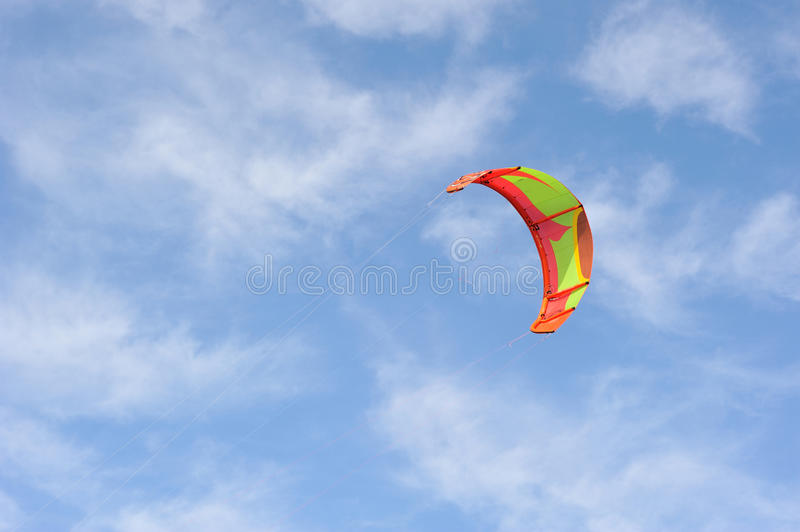 Download Freedom. Parachute On The Sky. Stock Image - Image: 25369637