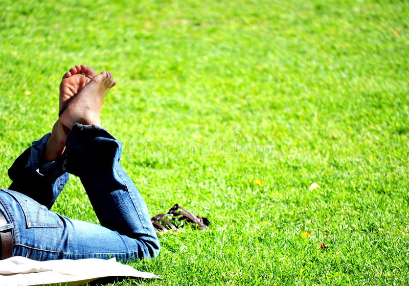Download Freedom Relaxing In The Park Stock Photo - Image: 11150888