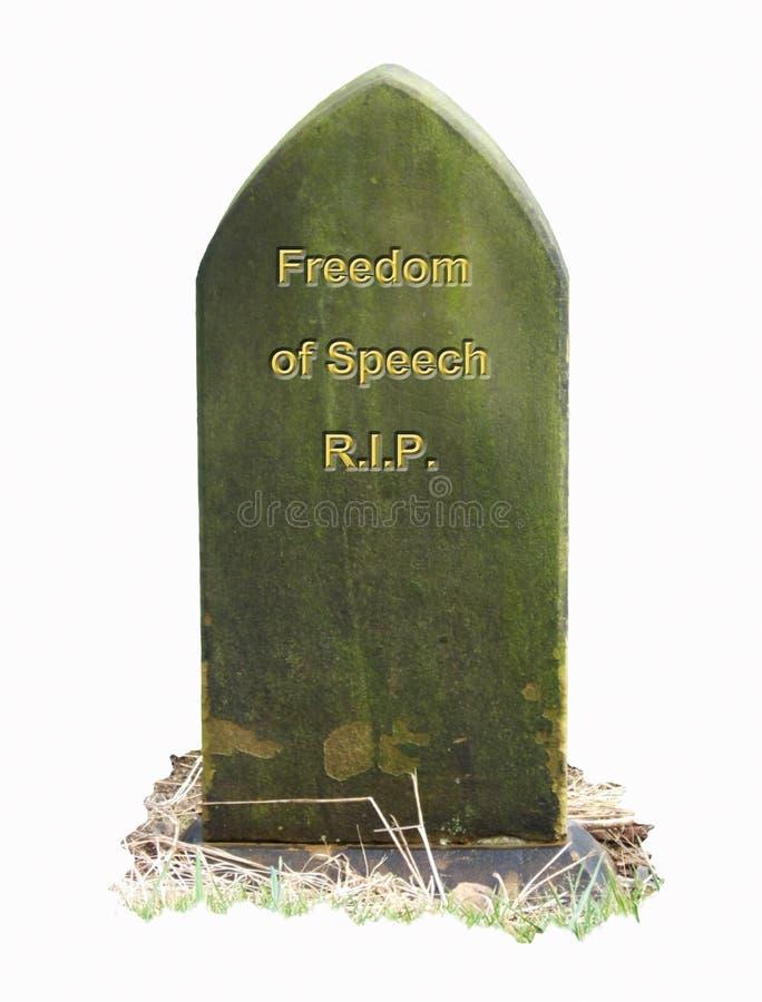 Freedom RIP royalty free stock image