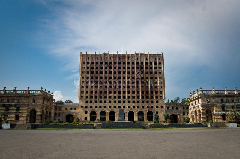 Download Freedom Square In Abkhazia Royalty Free Stock Photos - Image: 15909158