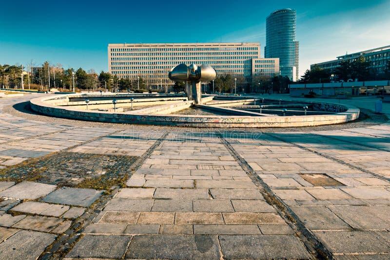 Freedom Square in Bratislava royalty free stock photos
