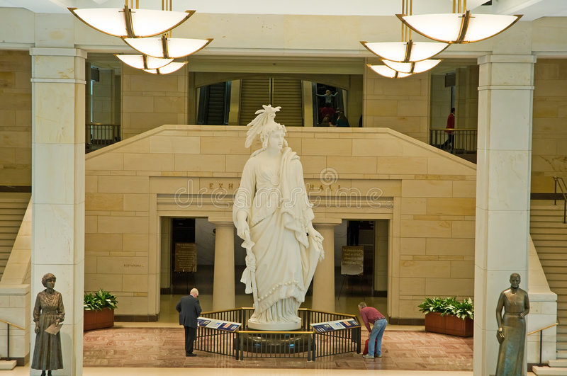 Freedom Statue US Capitol Royalty Free Stock Photos