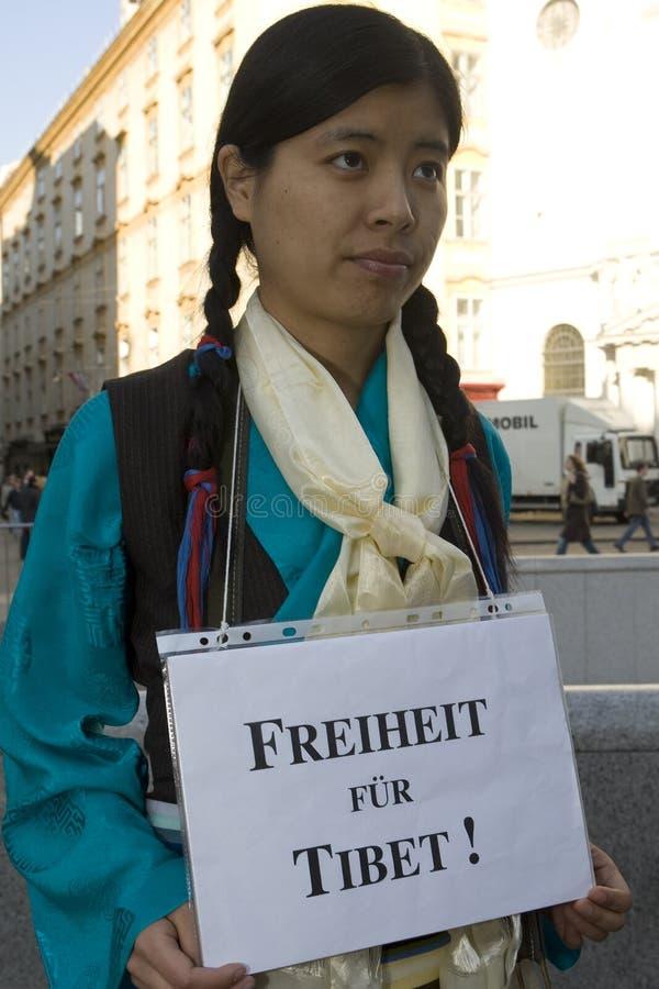Freedom For Tibet Royalty Free Stock Photos