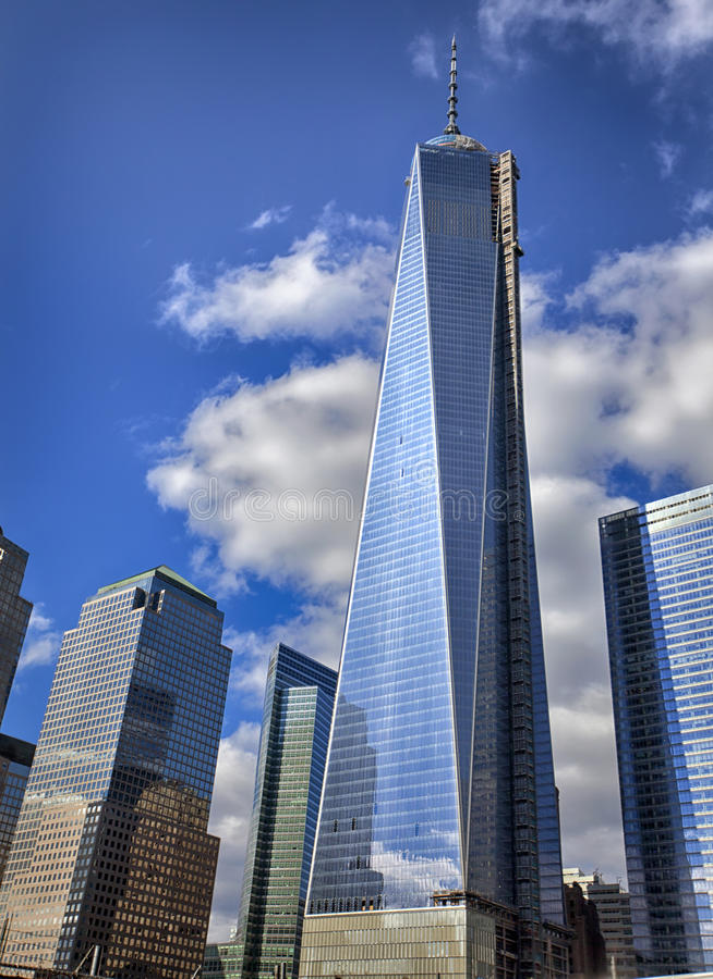 Freedom Tower royalty-vrije stock foto