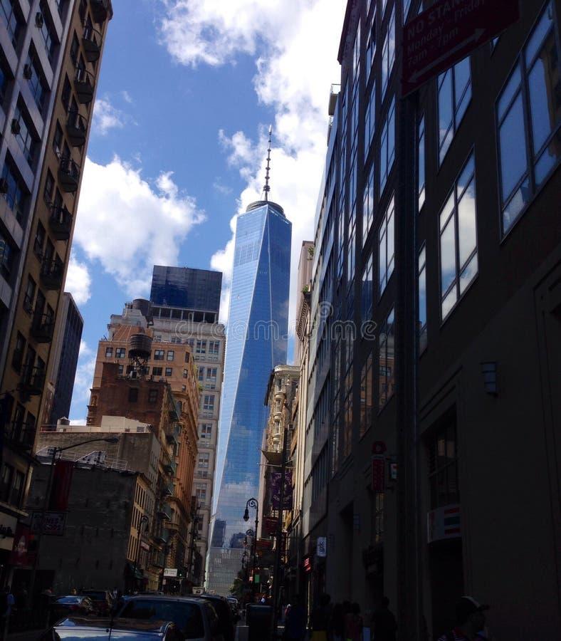 Freedom Tower royaltyfri fotografi
