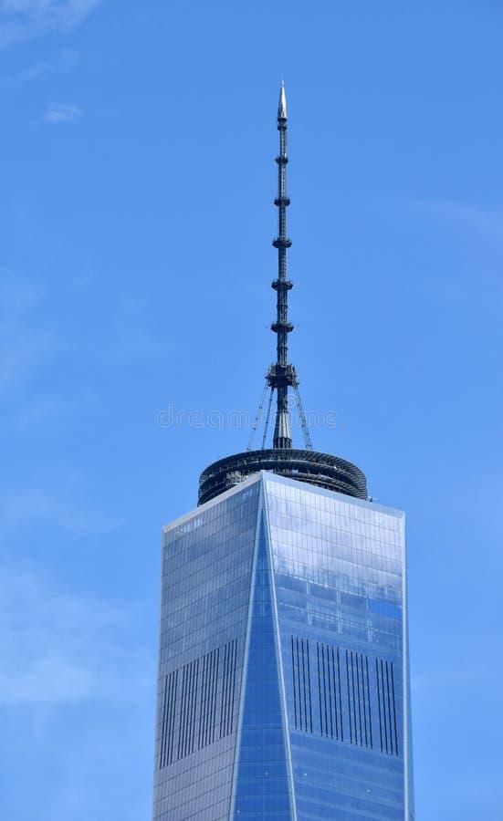 Freedom tower New York City stock photo