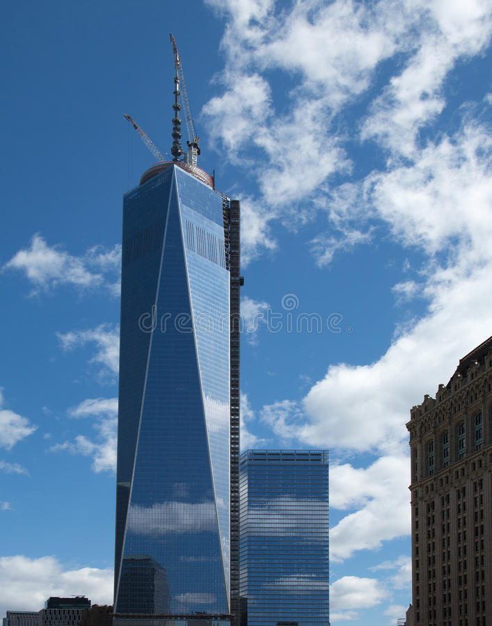 Freedom Tower NYC royalty-vrije stock foto