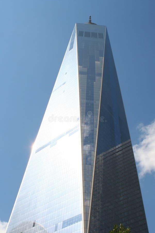 Freedom Tower NYC lizenzfreie stockfotos