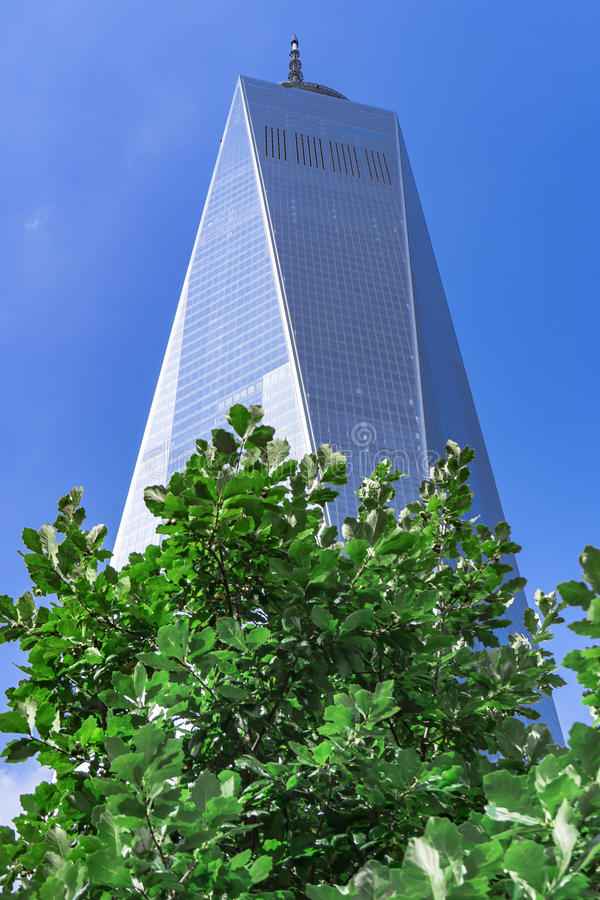 Freedom Tower, One World Trade Center, New York City, USA royalty free stock photography