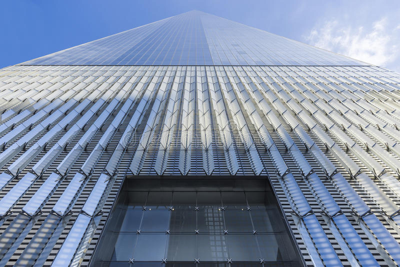 Freedom Tower, One World Trade Center, New York City, USA stock photo