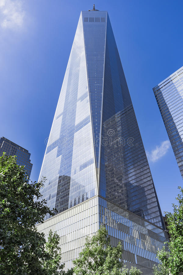 Freedom Tower, One World Trade Center, New York City, USA royalty free stock images