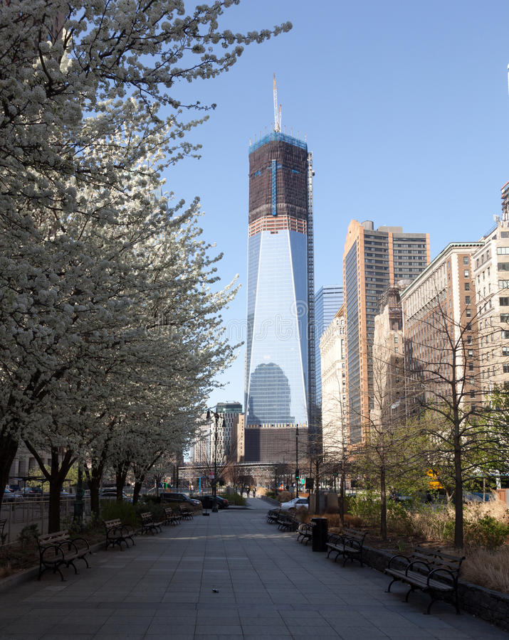 Free Freedom Tower Under Construction New York Stock Photography - 24363902