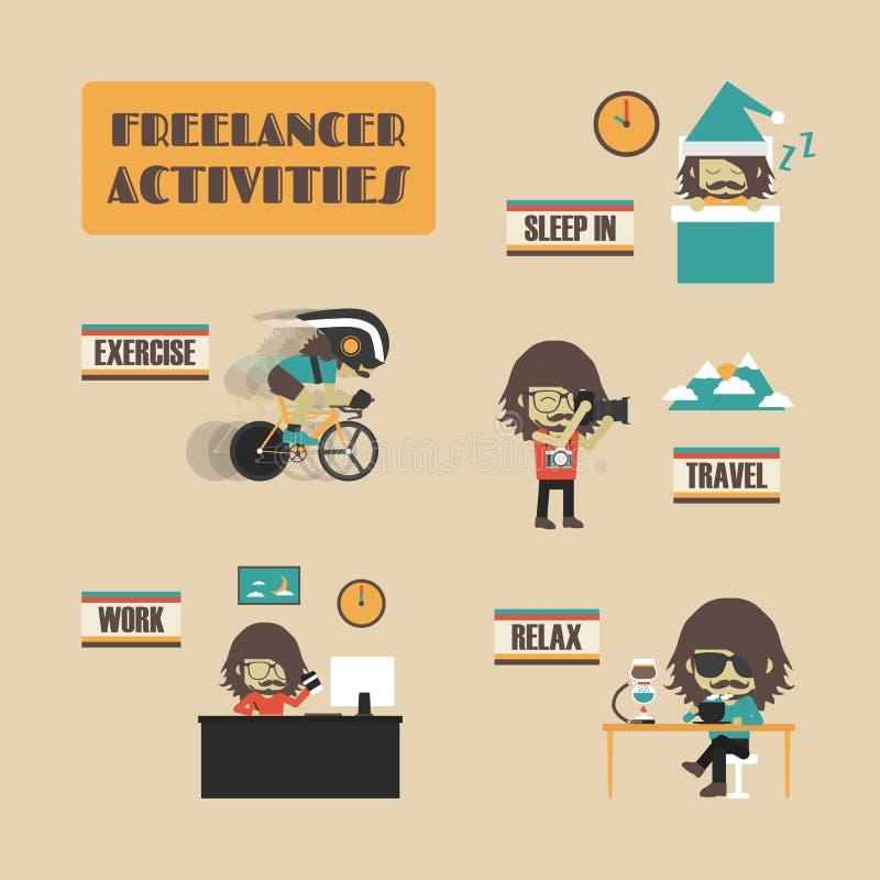 freelancer libre illustration