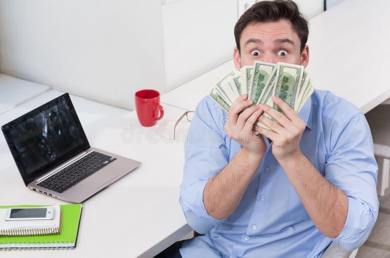 Freelancer masculino s imagem de stock
