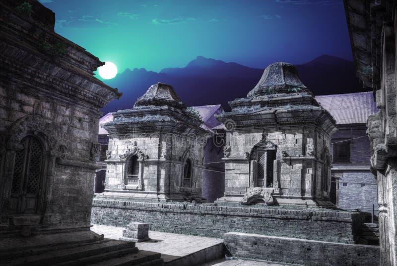 Pashupatinath Temple royalty free stock photography