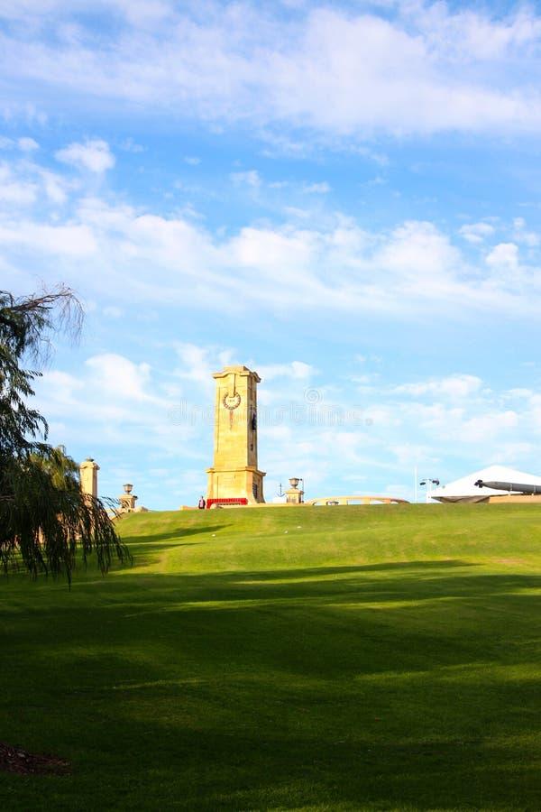 Free Freemantle Memorial 100th ANZAC Dawn Service Stock Image - 53297211