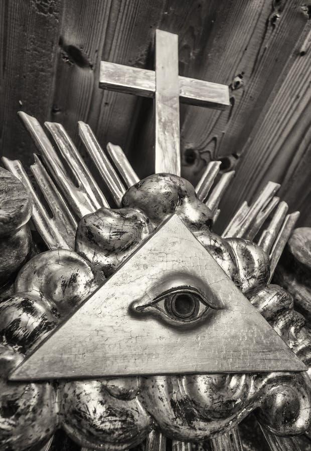 Freemason Symbol Stock Photo Image Of Relief Triangle 63602842