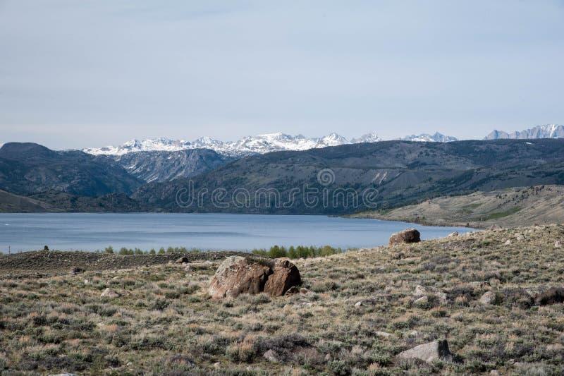 Freemont jezioro zdjęcie royalty free