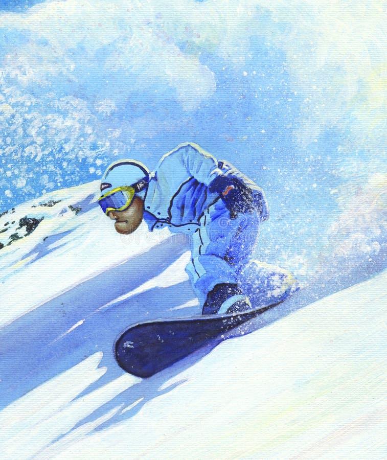 Freeride 2008 Stock Illustration