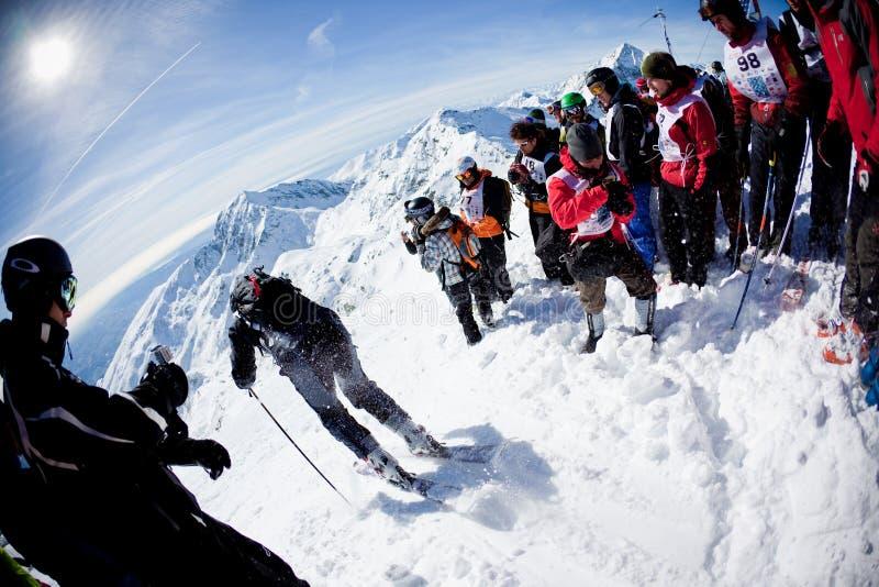Freeride Ski Race