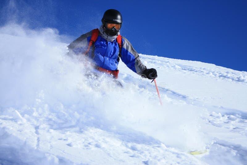 Download Freeride skier 1 stock photo. Image of freeride, piste - 10468812