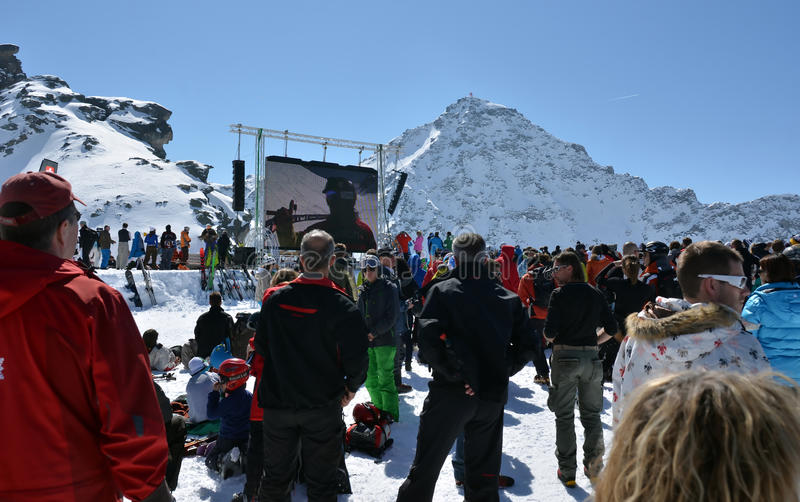Download Freeride World Tour Final 2012 Editorial Stock Image - Image: 23995879