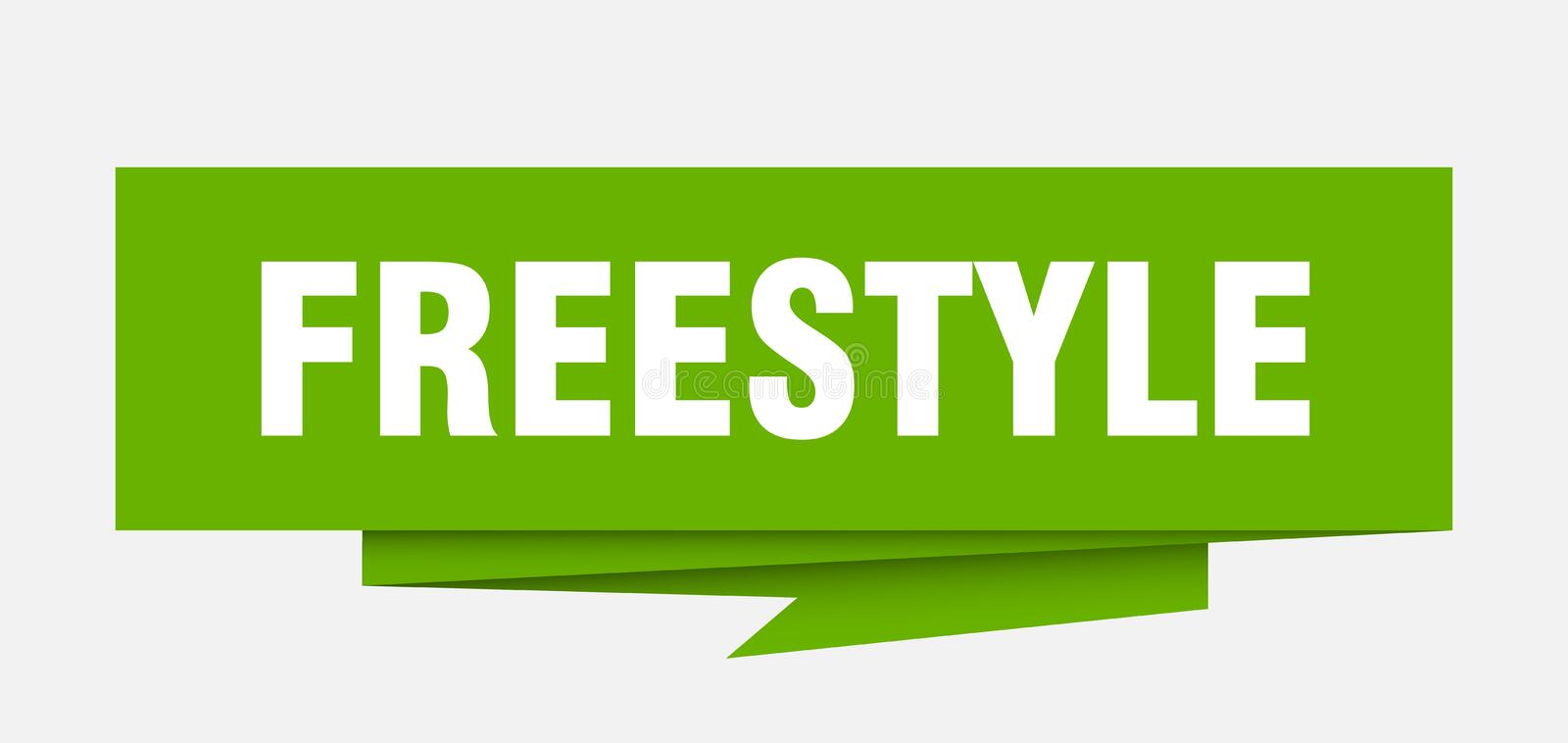 freestyle stock de ilustración
