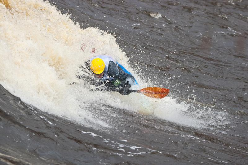 Freestyle on whitewater