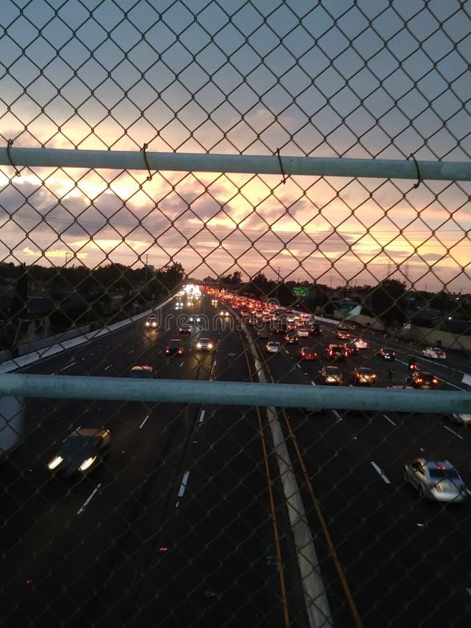freeway стоковая фотография rf