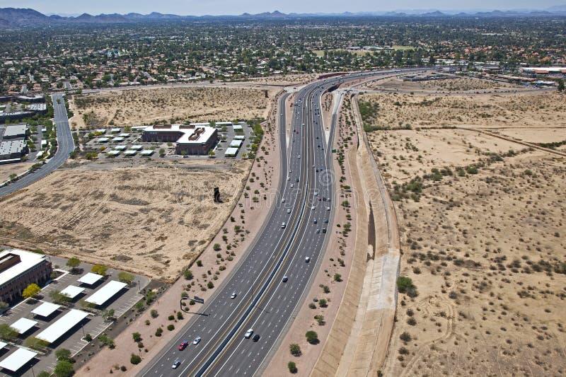 Download Freeway stock image. Image of cars, expressway, aerial - 25853481